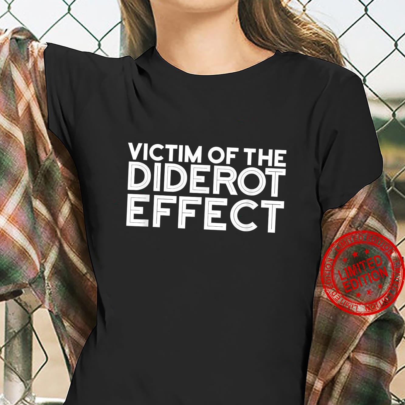 Funny Diderot Effect Design Shirt ladies tee