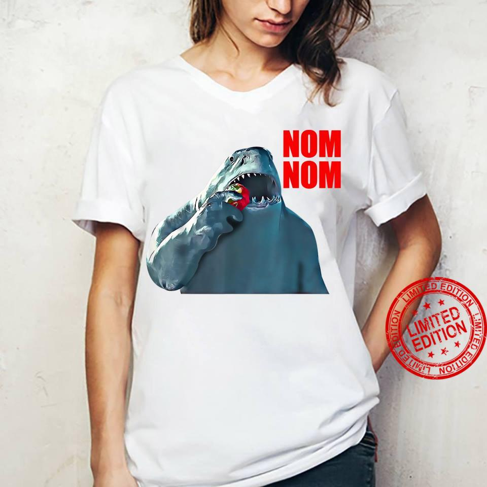 King Shark Nom Nom Shirt ladies tee