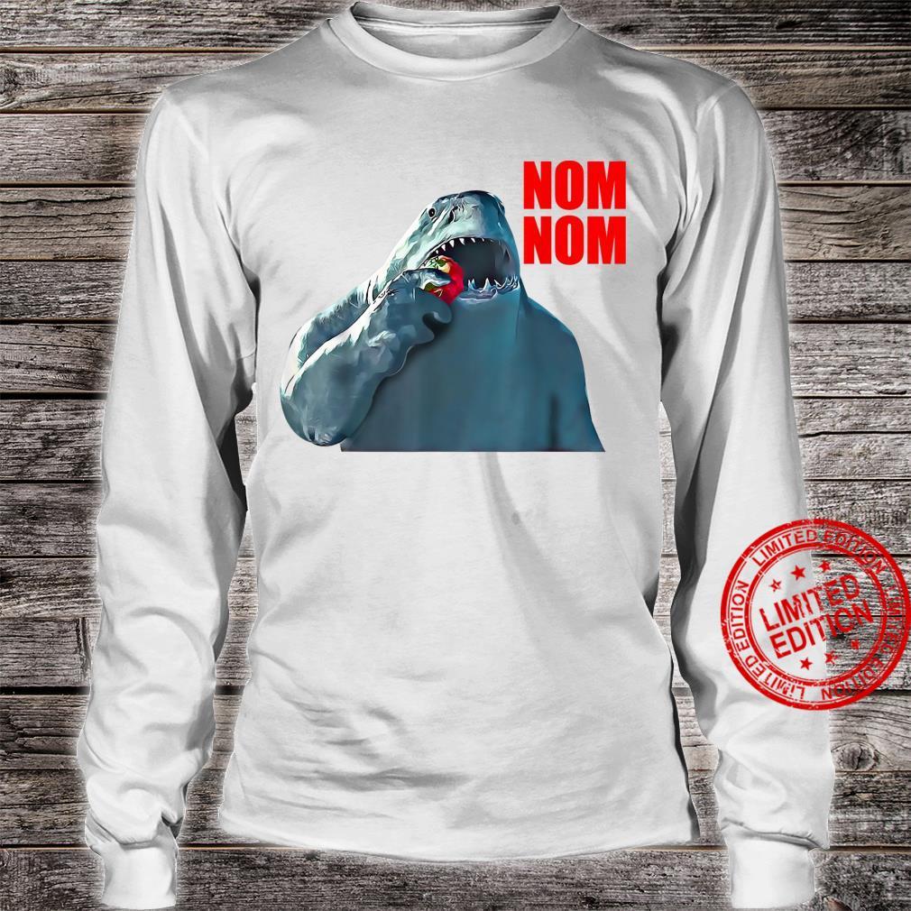 King Shark Nom Nom Shirt long sleeved