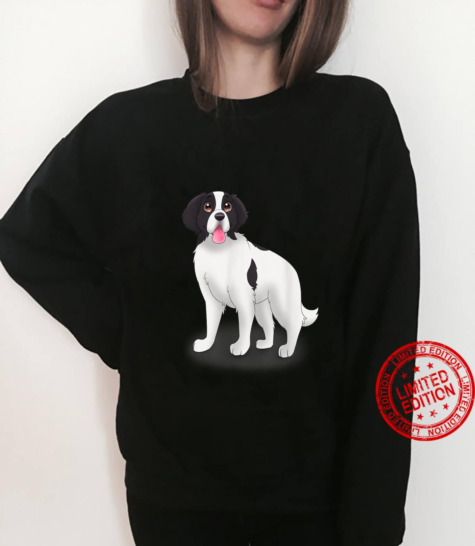 Landseer Dog Landseer Shirt sweater