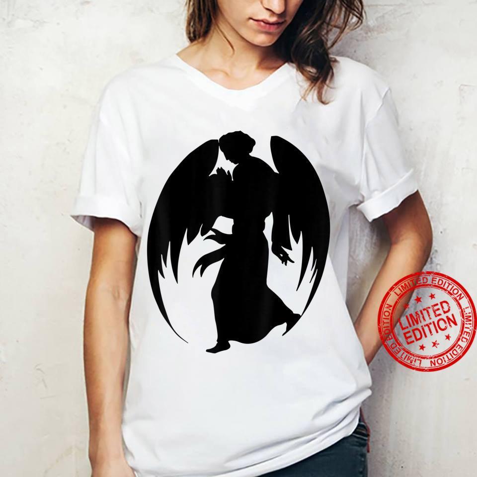 Medieval Angel Christian Art Shirt ladies tee