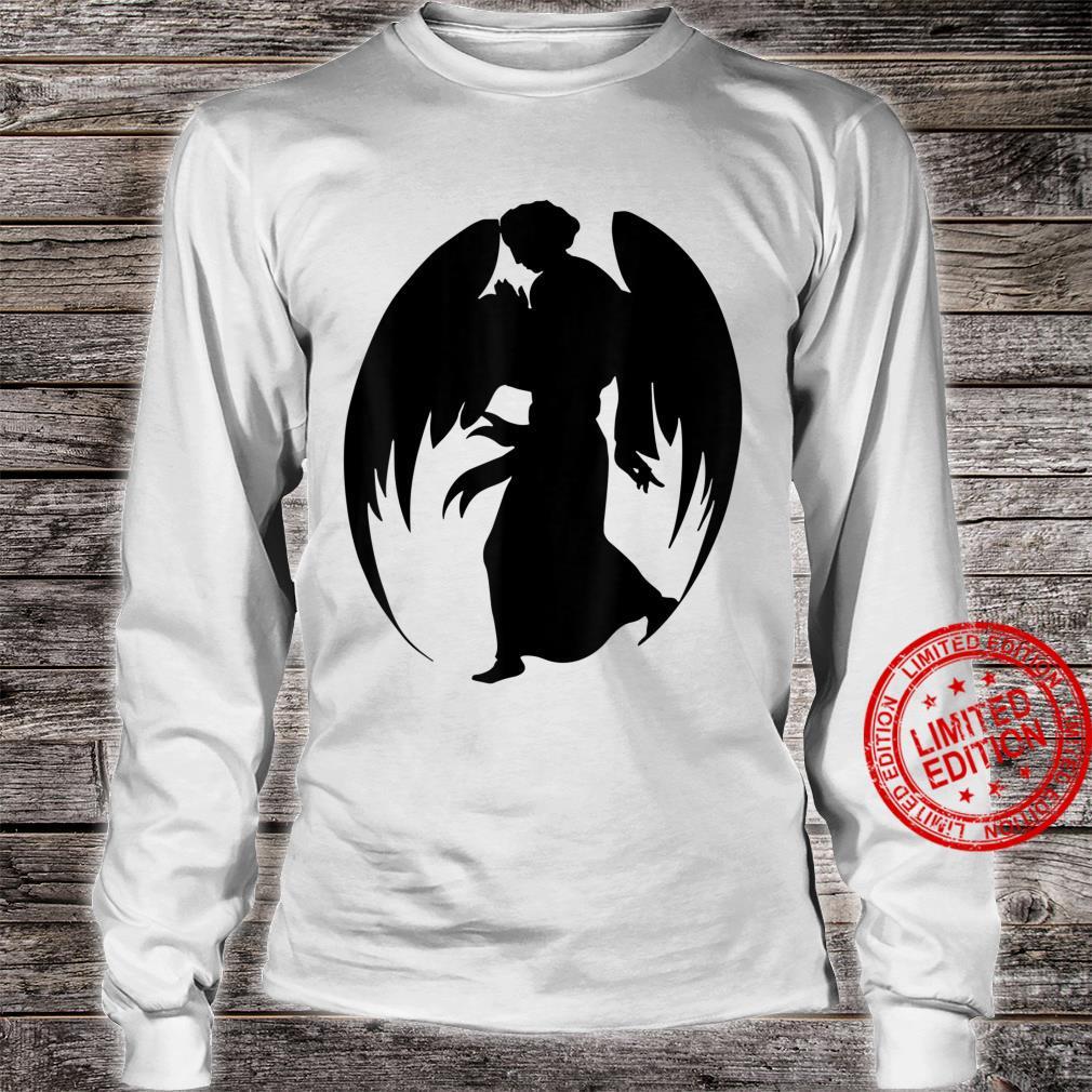 Medieval Angel Christian Art Shirt long sleeved