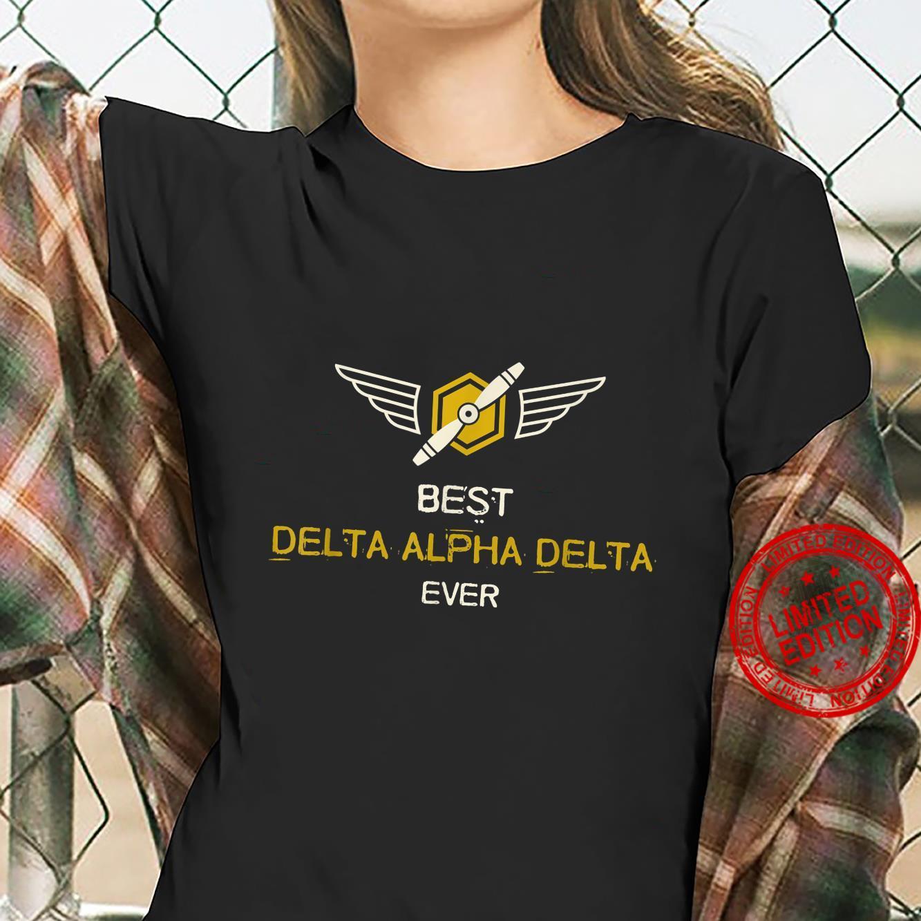 Mens Airplane Pilot Best Dad Flying Shirt ladies tee