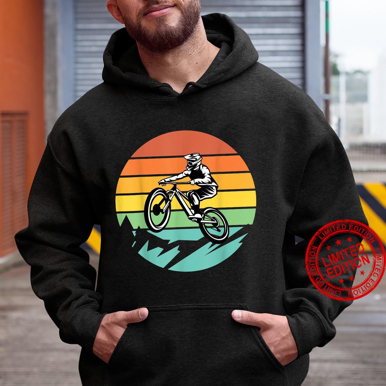 Mountainbike Fahrrad Retro Shirt hoodie