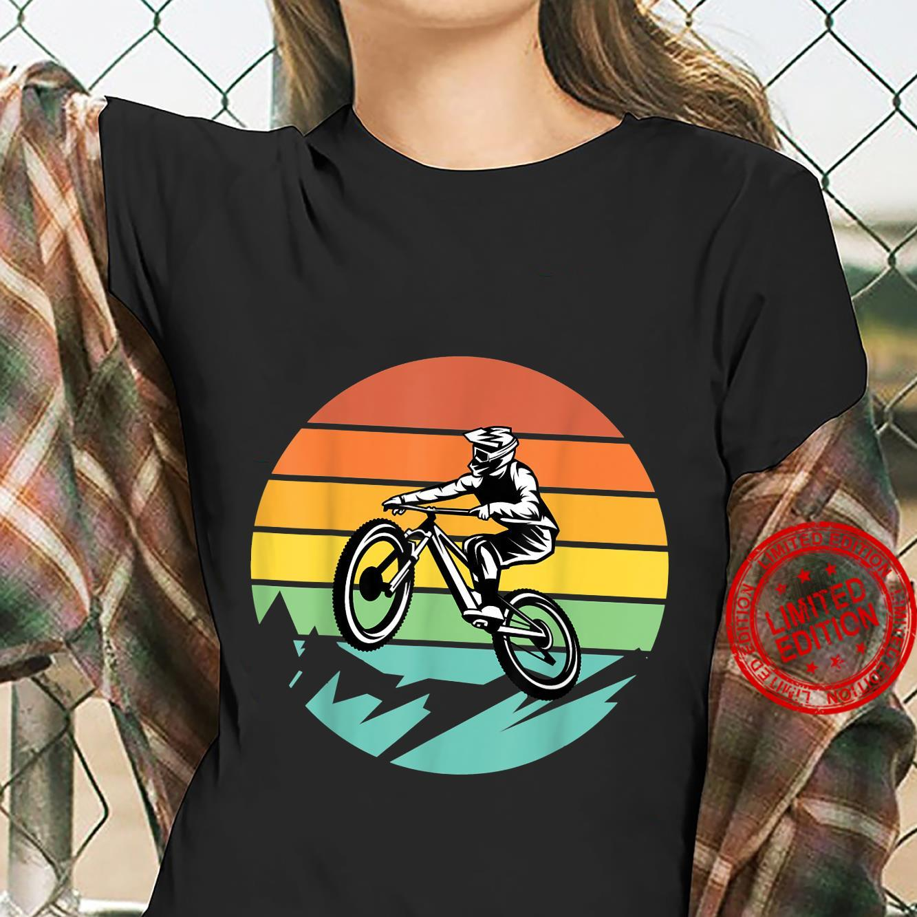 Mountainbike Fahrrad Retro Shirt ladies tee
