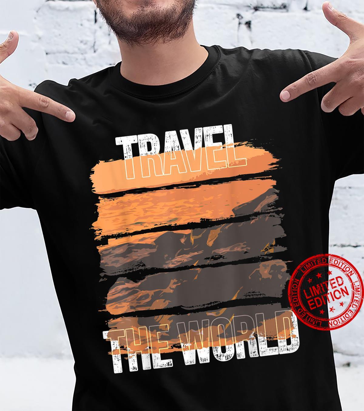 Ocean Scenery Travel Vacation Shirt