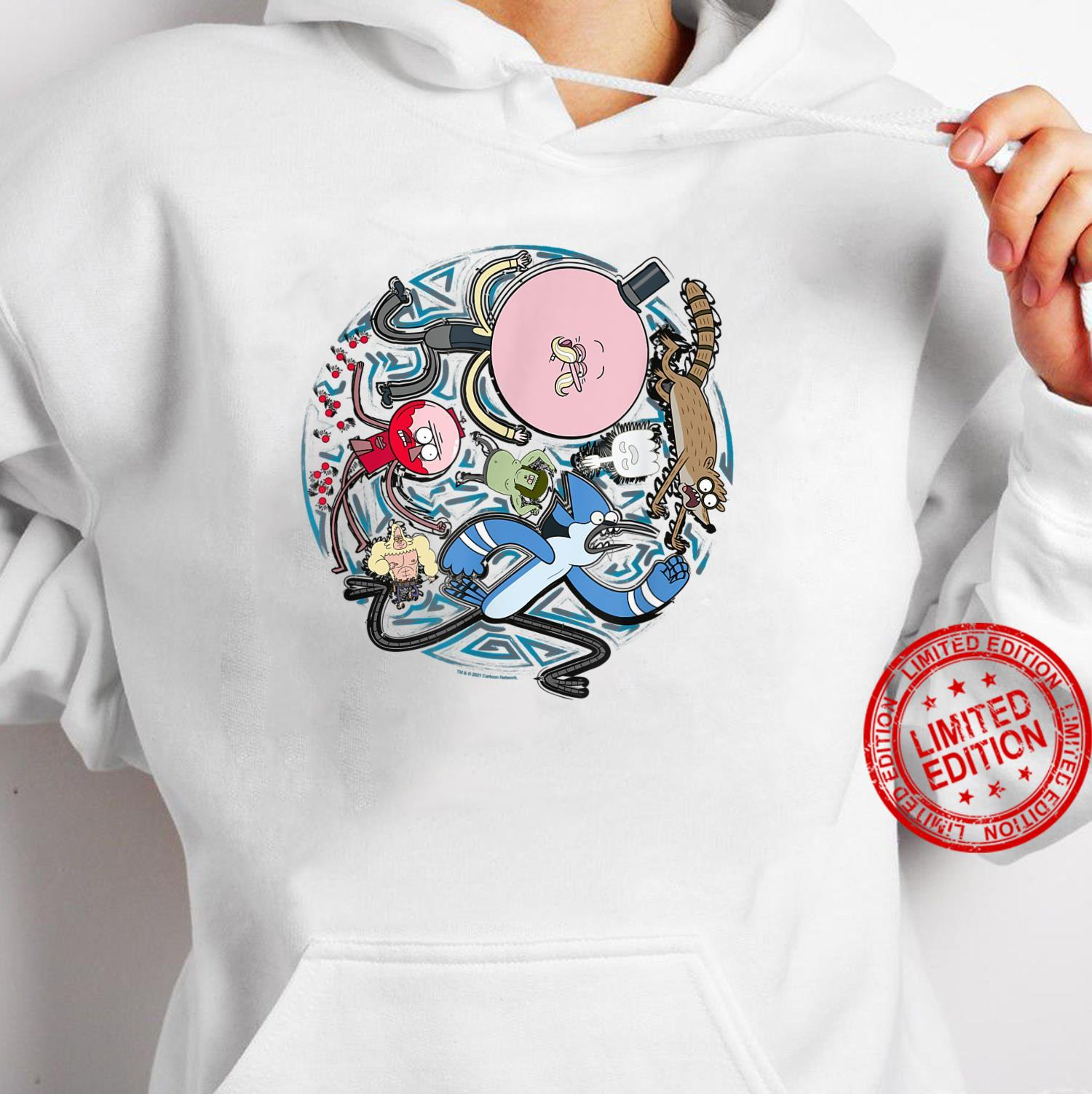 Regular Show Circular Character Art Shirt hoodie
