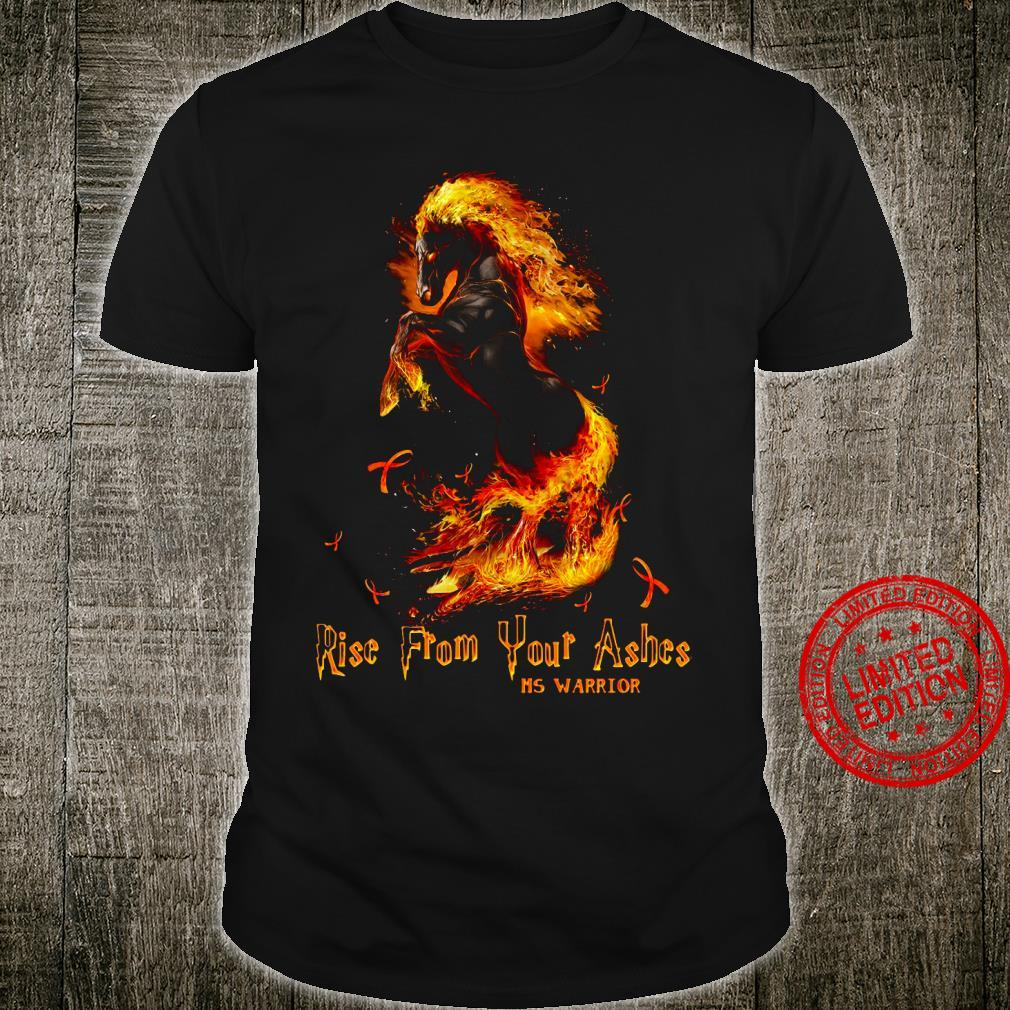 Rise From Your Ashes Ms Warrior Shirt