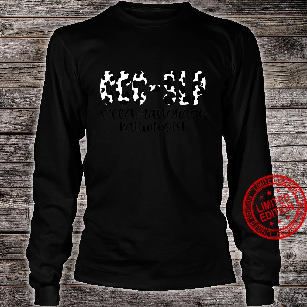 Speech Therapy for Speech Language Pathologist Therapist Shirt long sleeved