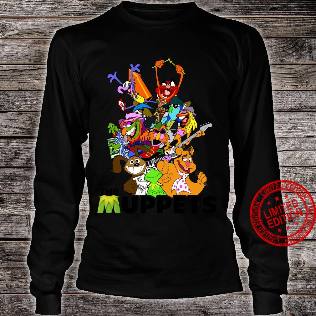 The muppets Crew Collage Heather shirt long sleeved