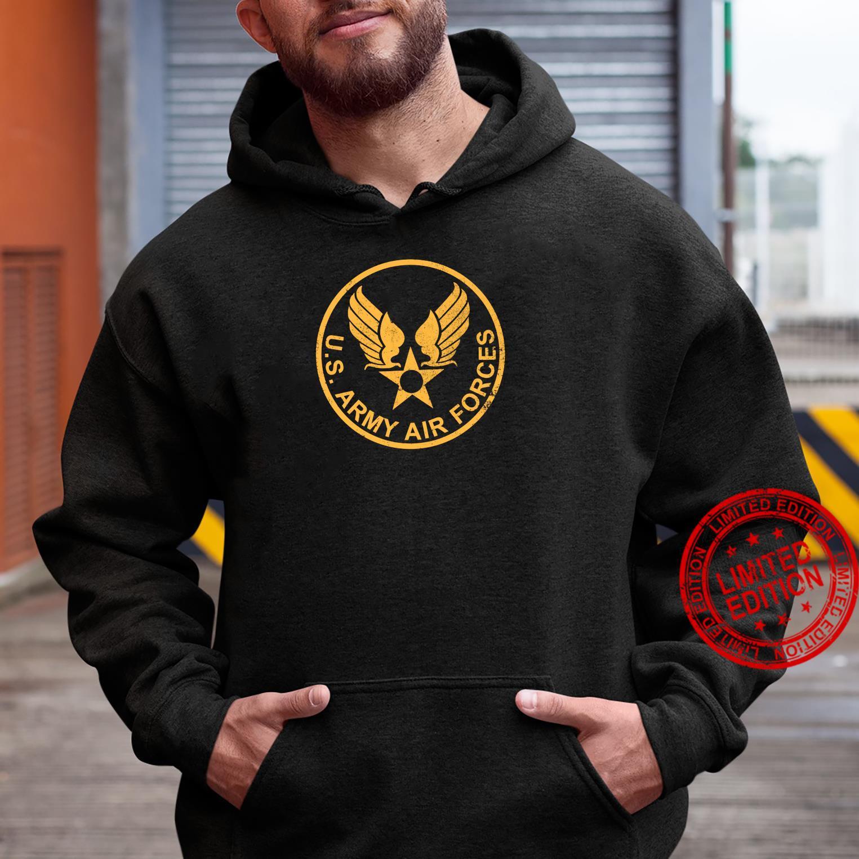 WW2 USAAF distressed Shirt hoodie