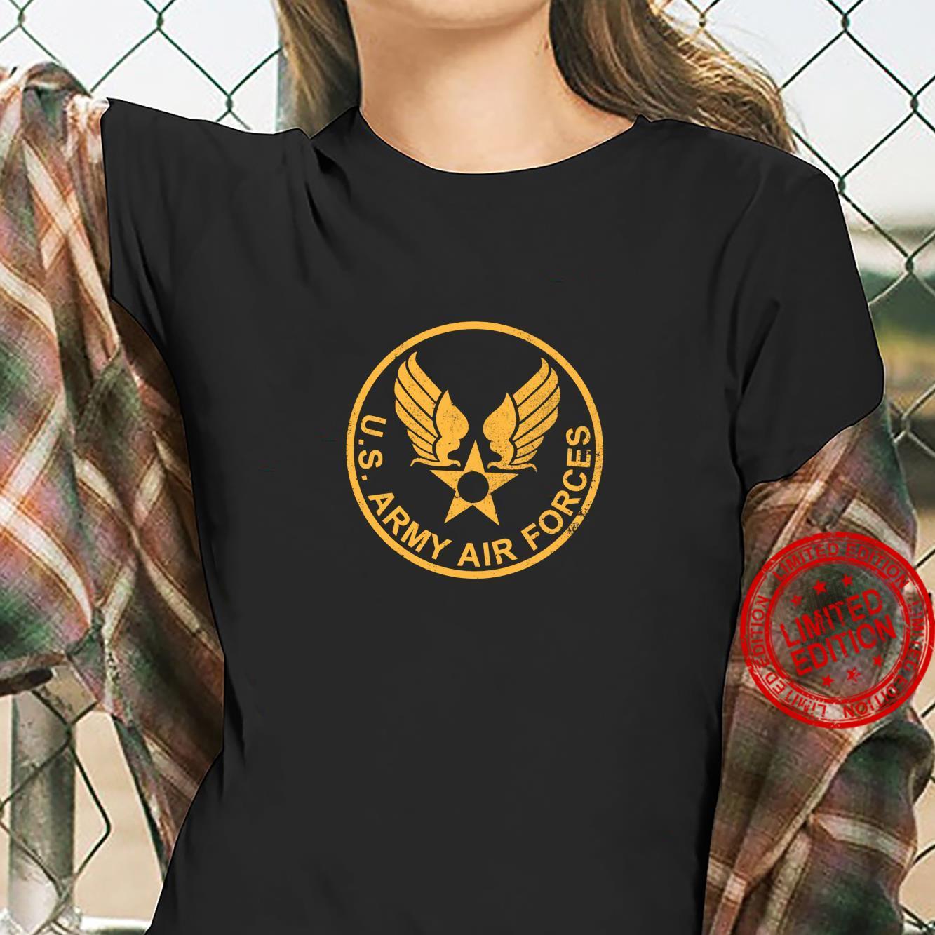 WW2 USAAF distressed Shirt ladies tee