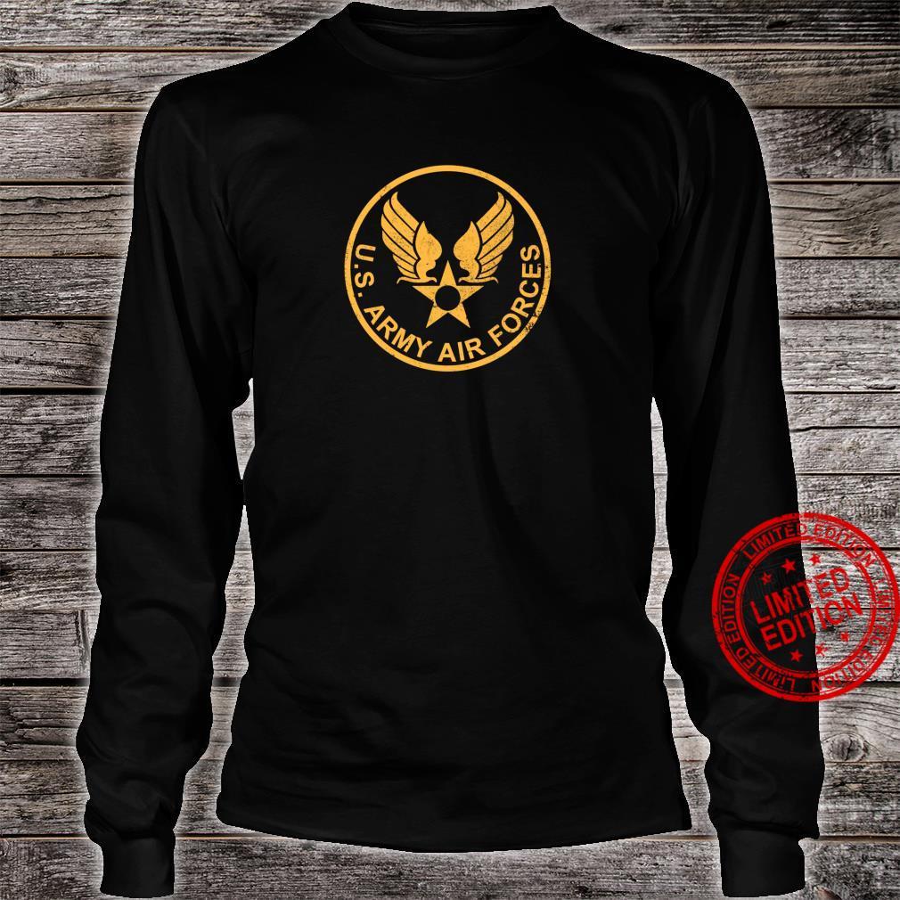 WW2 USAAF distressed Shirt long sleeved