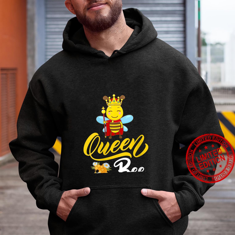 Womens Bee Cute Queen Bee Mother's Day Shirt hoodie