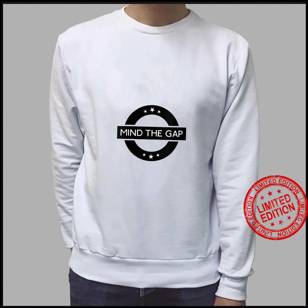Womens London Souvenir Mind The Gap Social Distancing Shirt sweater