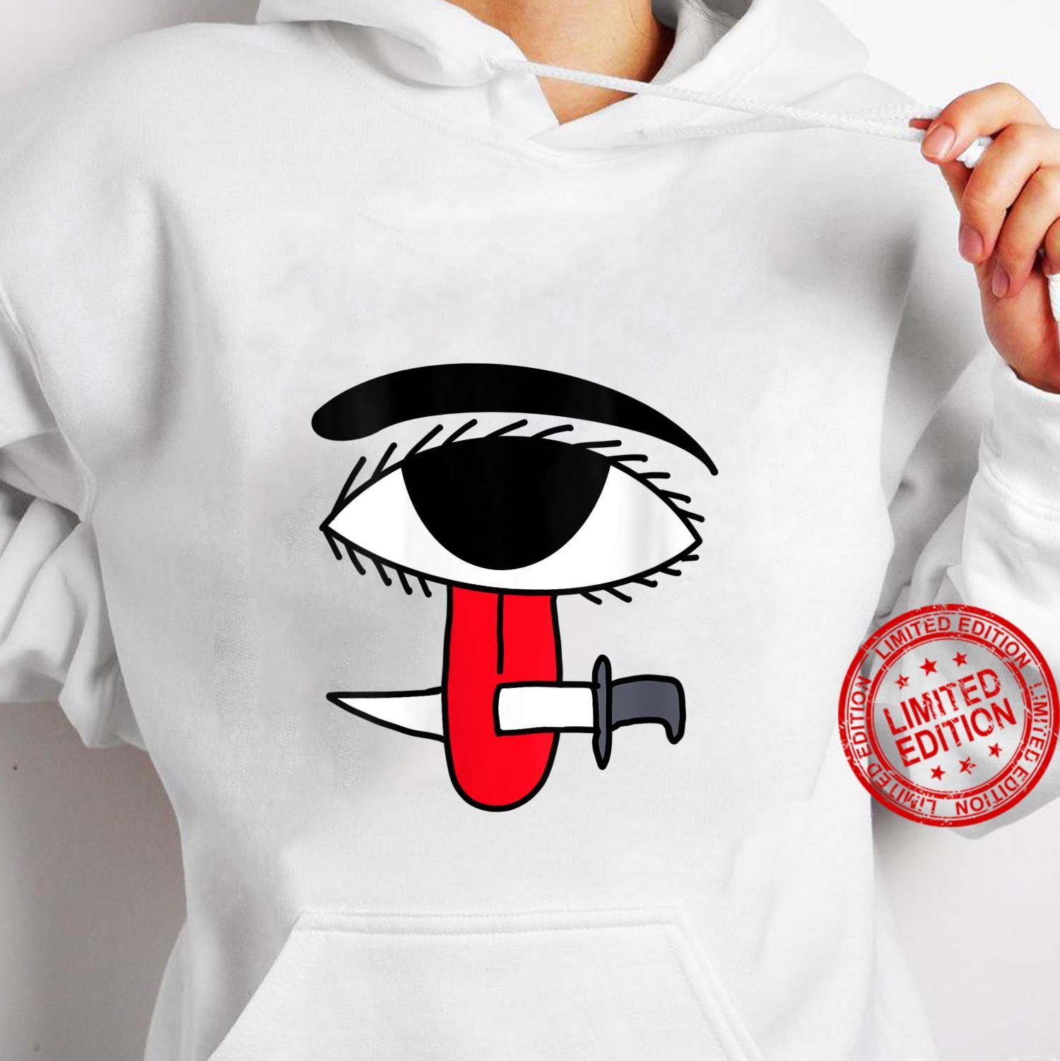 Womens Ojo Lengua Cuchillo Santeria Cuban Symbol Shirt hoodie