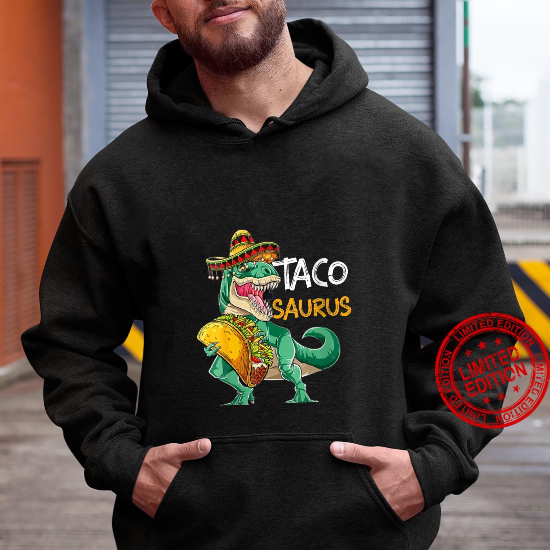 Womens Tacosaurus Cinco de Mayo Shirt Taco Dinosaur Shirt hoodie