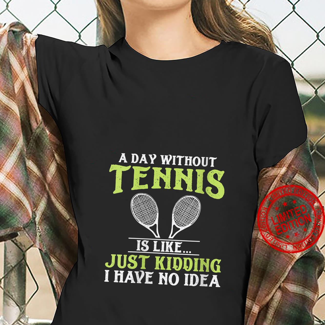 Womens Tennis Quote Design Shirt ladies tee