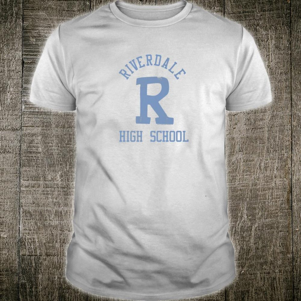 Archie Riverdale Highschool Distressed One Color Shirt