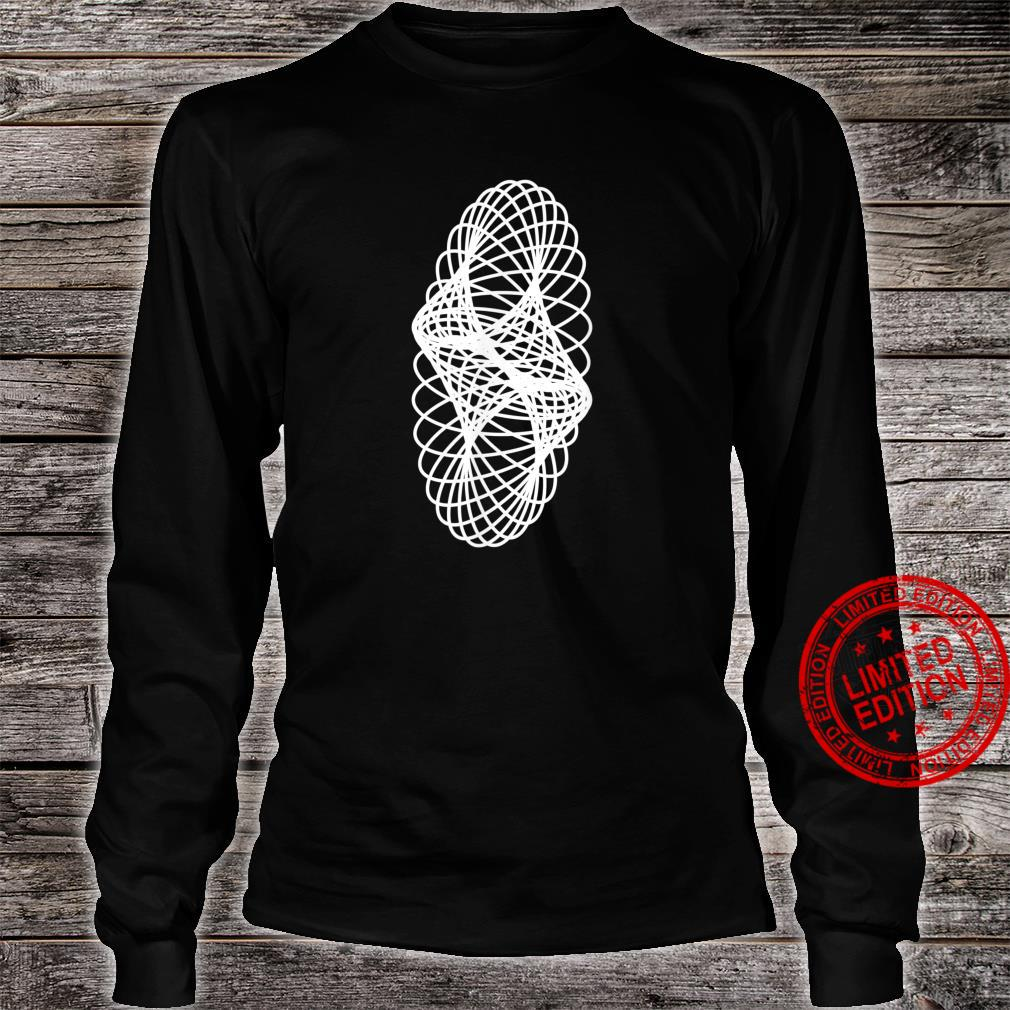 Awesome Sacred Geometry Geometric Repeating Circles Spiral Shirt long sleeved
