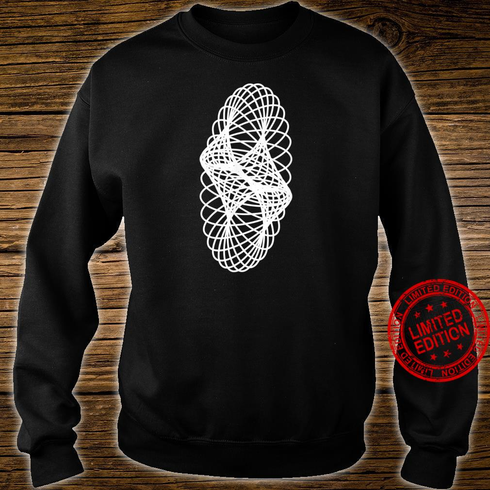 Awesome Sacred Geometry Geometric Repeating Circles Spiral Shirt sweater