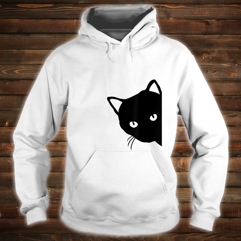 Black Cat Face  For Pet s Or Mom Shirt hoodie