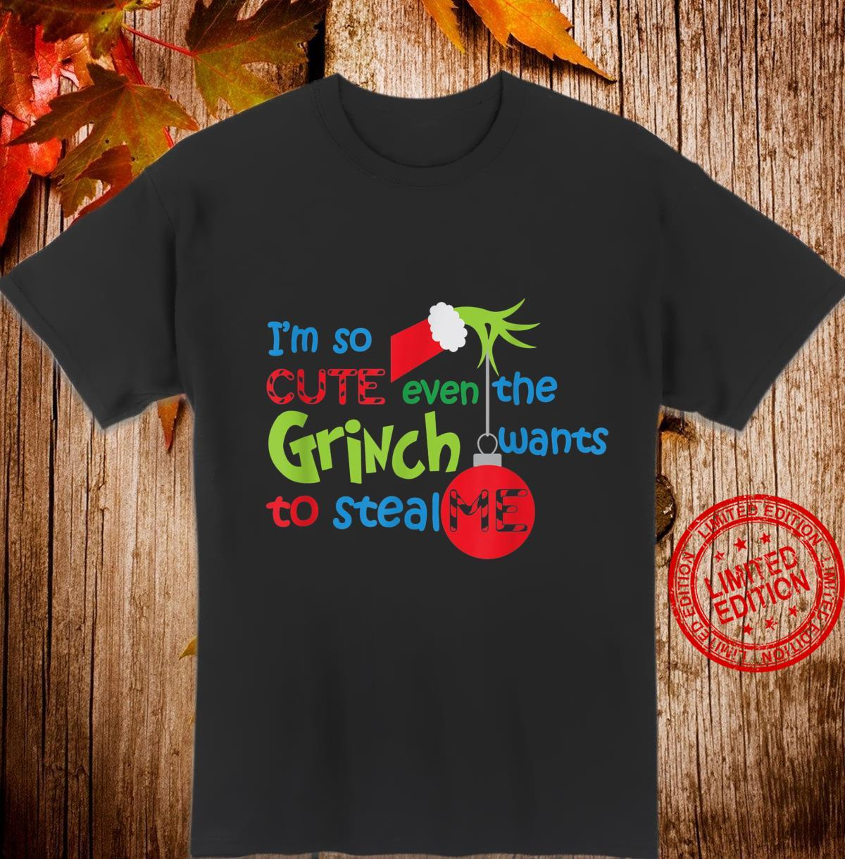 Funny Holiday I am so cute that everybody wants me meme Shirt