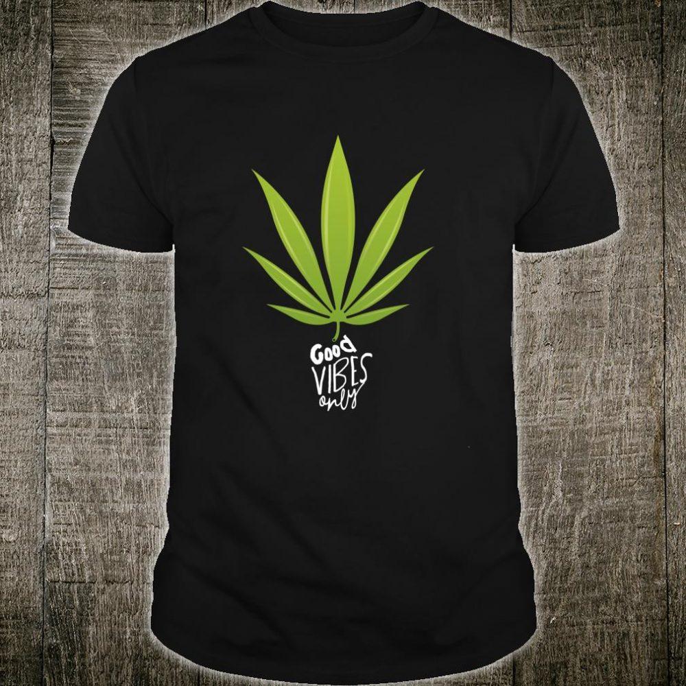 Funny nice and clever legalize marijuana Shirt
