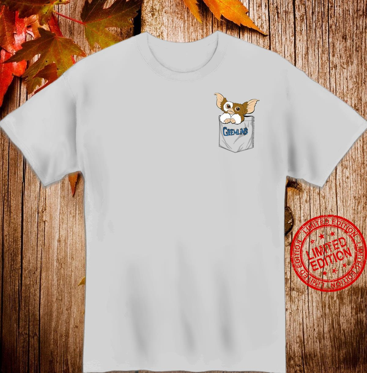 Gremlins Gizmo Faux Pocket Shirt