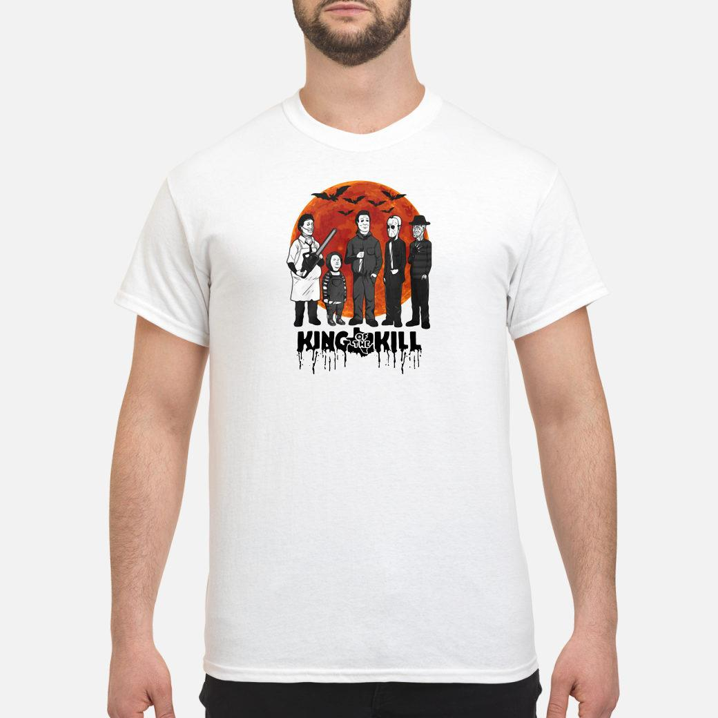 Halloween Horror Characters King Of The Kill shirt