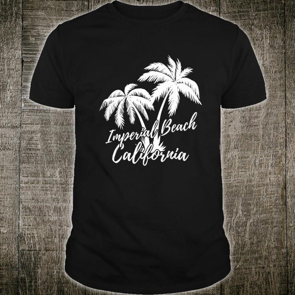 Imperial Beach California Palm Trees Vacation Shirt