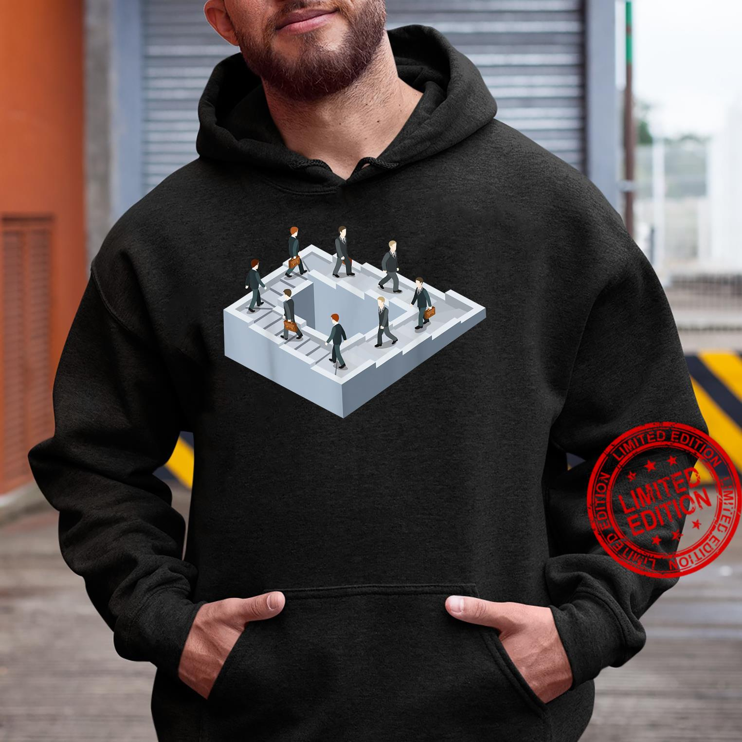 Impossible fairy nonexistent pathway optical illusion Shirt hoodie