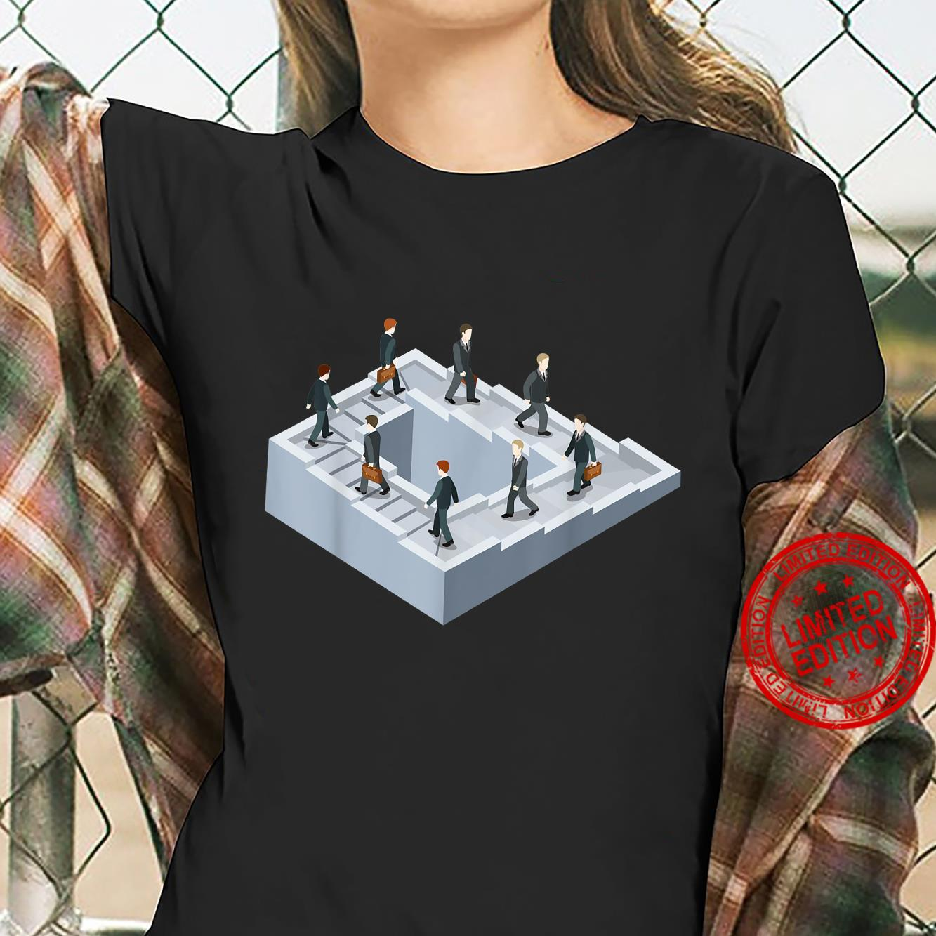 Impossible fairy nonexistent pathway optical illusion Shirt ladies tee