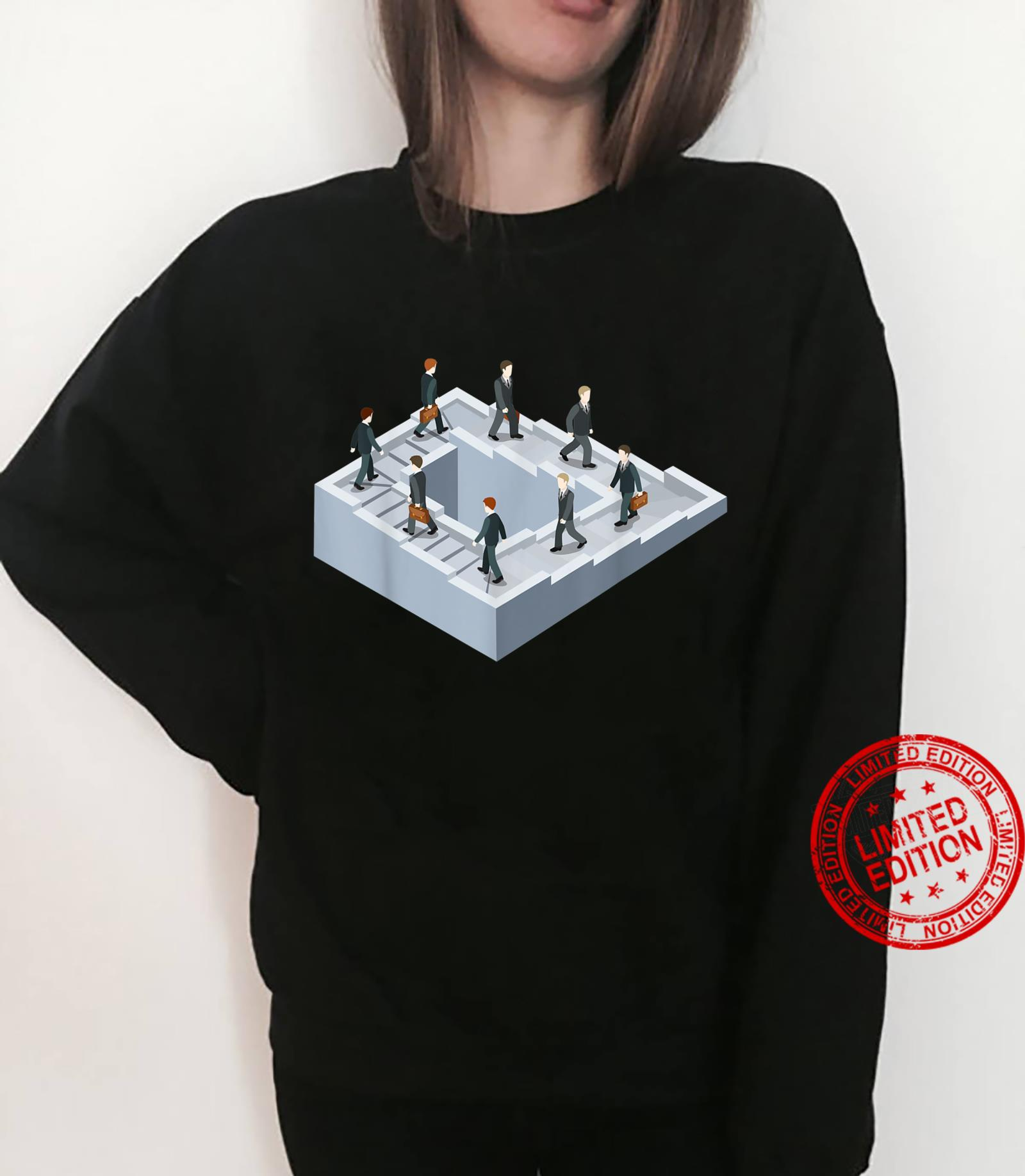 Impossible fairy nonexistent pathway optical illusion Shirt sweater
