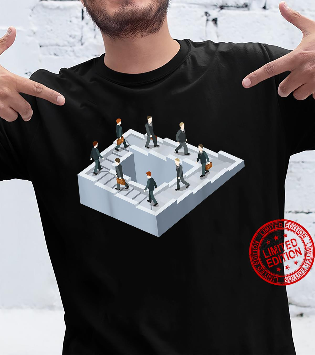 Impossible fairy nonexistent pathway optical illusion Shirt