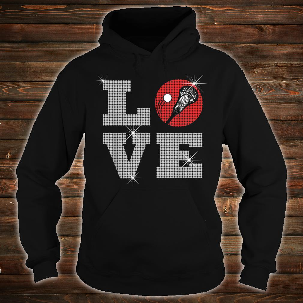 Love Lacrosse LAX Mom Player Gift Lacrosse Team Coach Shirt hoodie