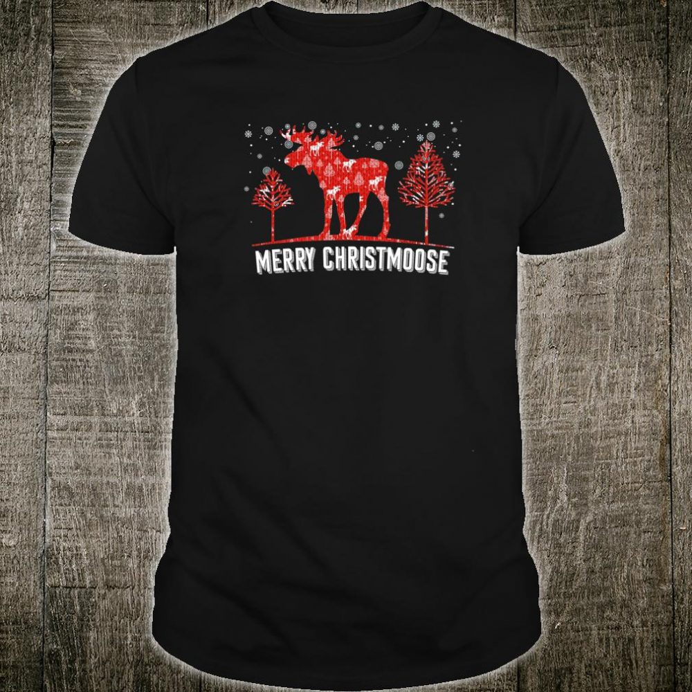 Merry Christmoose Christmas Moose Shirt