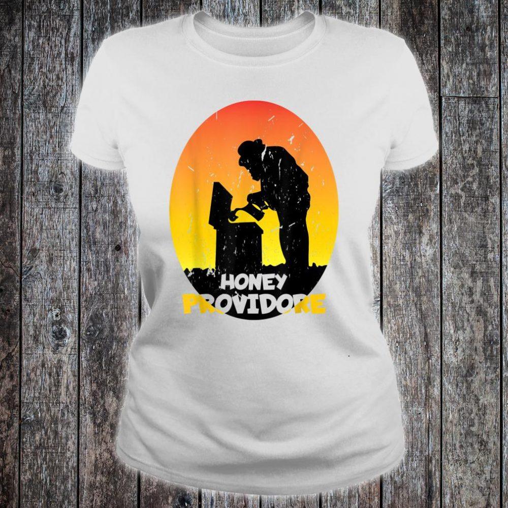 Motiv for Beekeeper Retro Shirt ladies tee