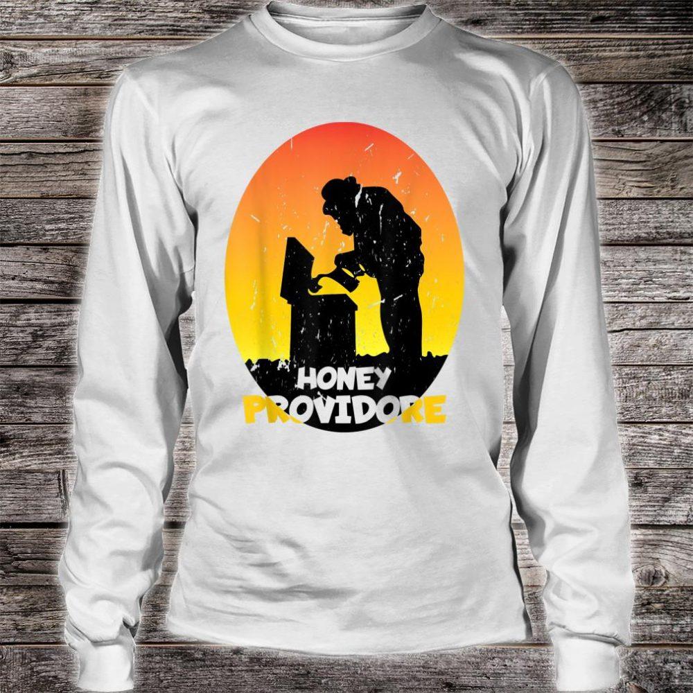 Motiv for Beekeeper Retro Shirt long sleeved