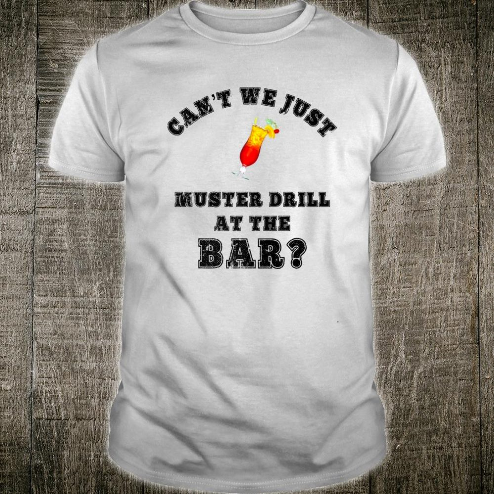 Muster Drill Cruise Ship Accessories Cruise Shirt