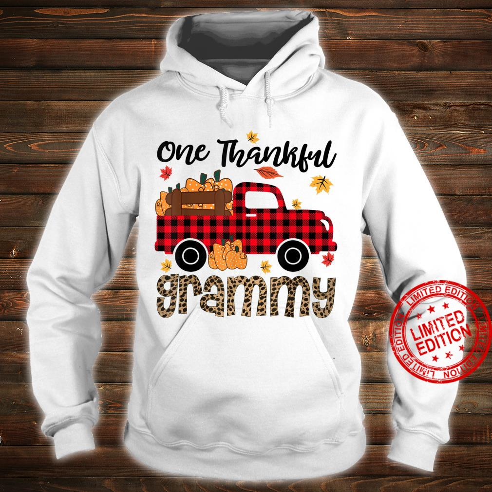 One Thankful Grammy Thanksgiving Day Family Matching Shirt hoodie