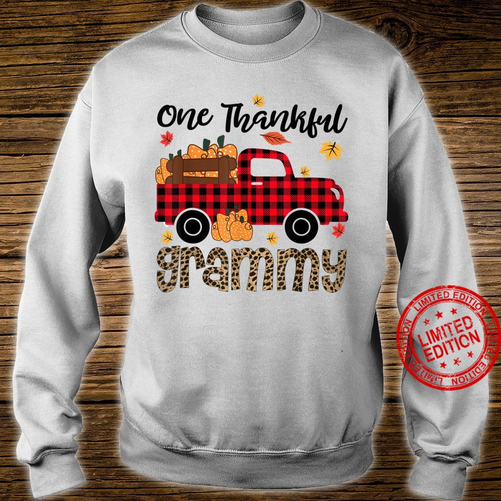 One Thankful Grammy Thanksgiving Day Family Matching Shirt sweater