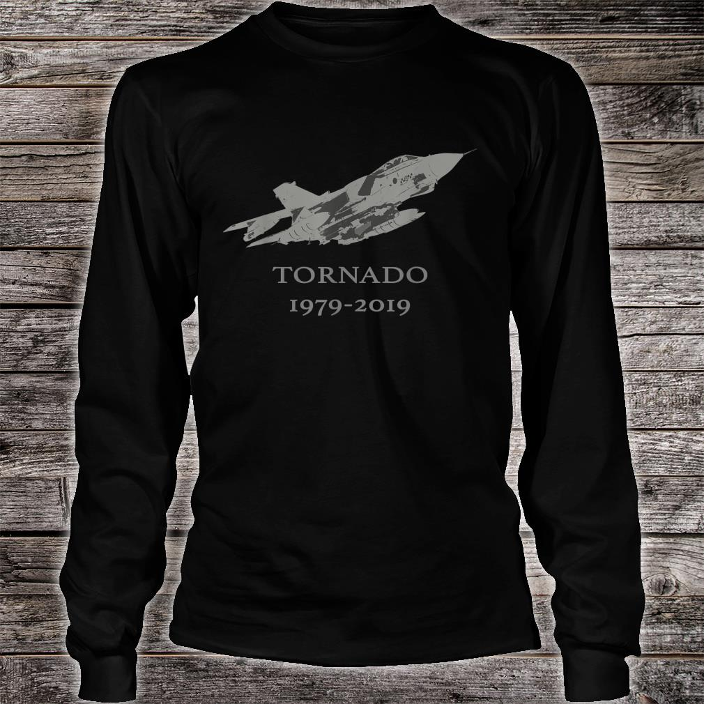 RAF Tornado GR4 Jet Military Airplane 19792019 Shirt long sleeved