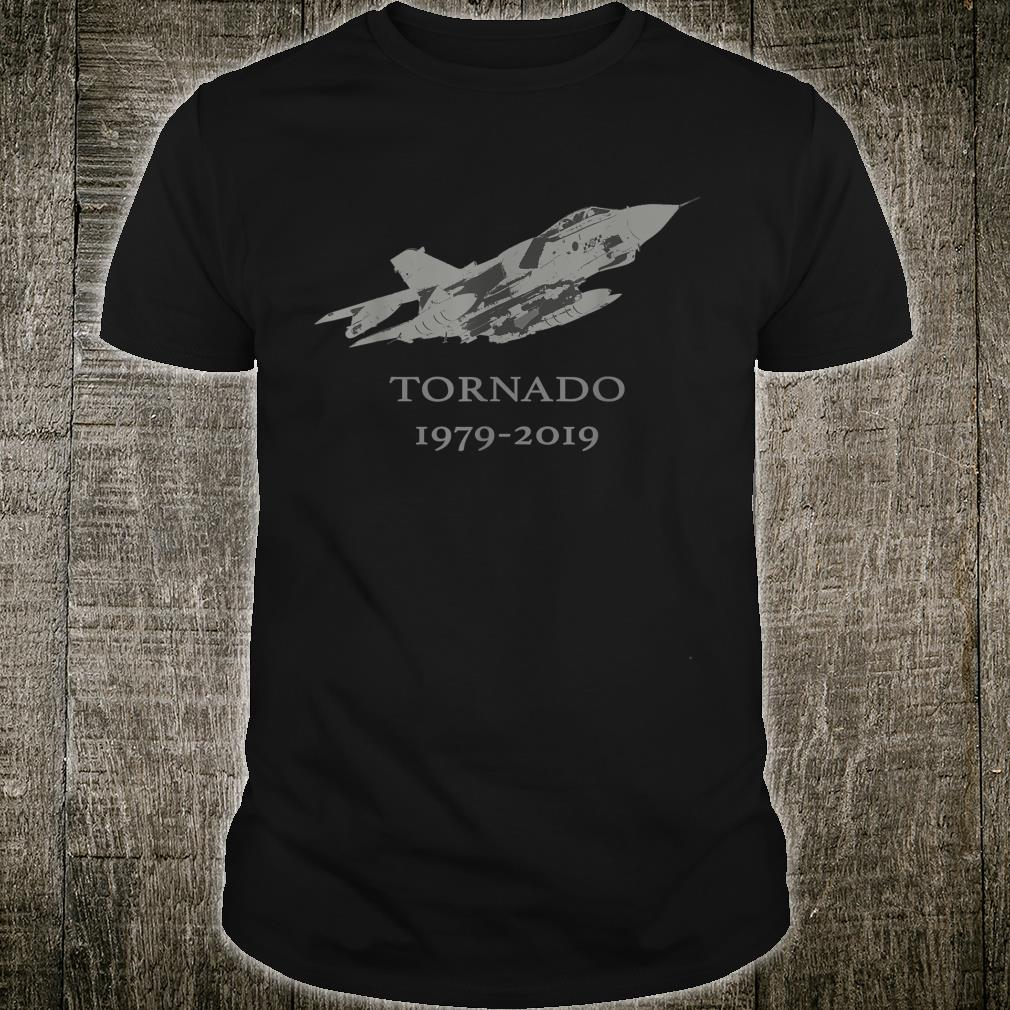 RAF Tornado GR4 Jet Military Airplane 19792019 Shirt