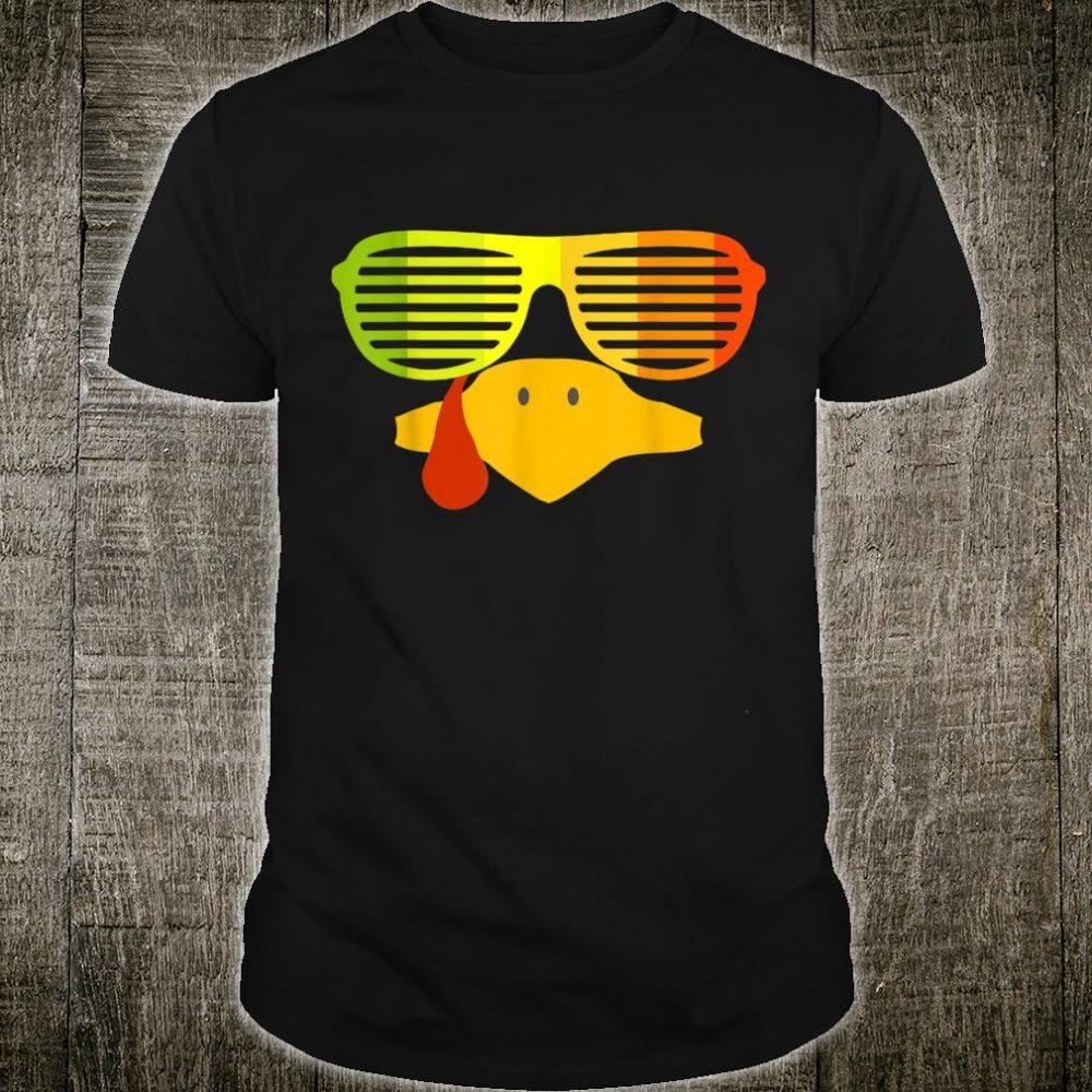 Retro 80s Sunglasses Shutter Shades Vintage Turkey Face Shirt