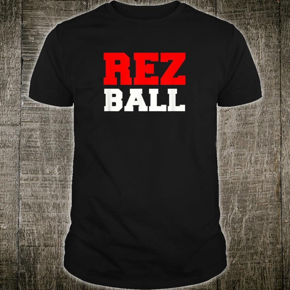 Rez Ball Native American Basketball Shirt