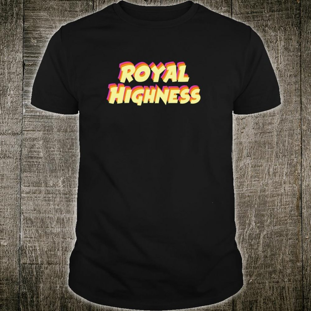 Royal Highness Merch Andrea Merch for all the Oddballs Shirt