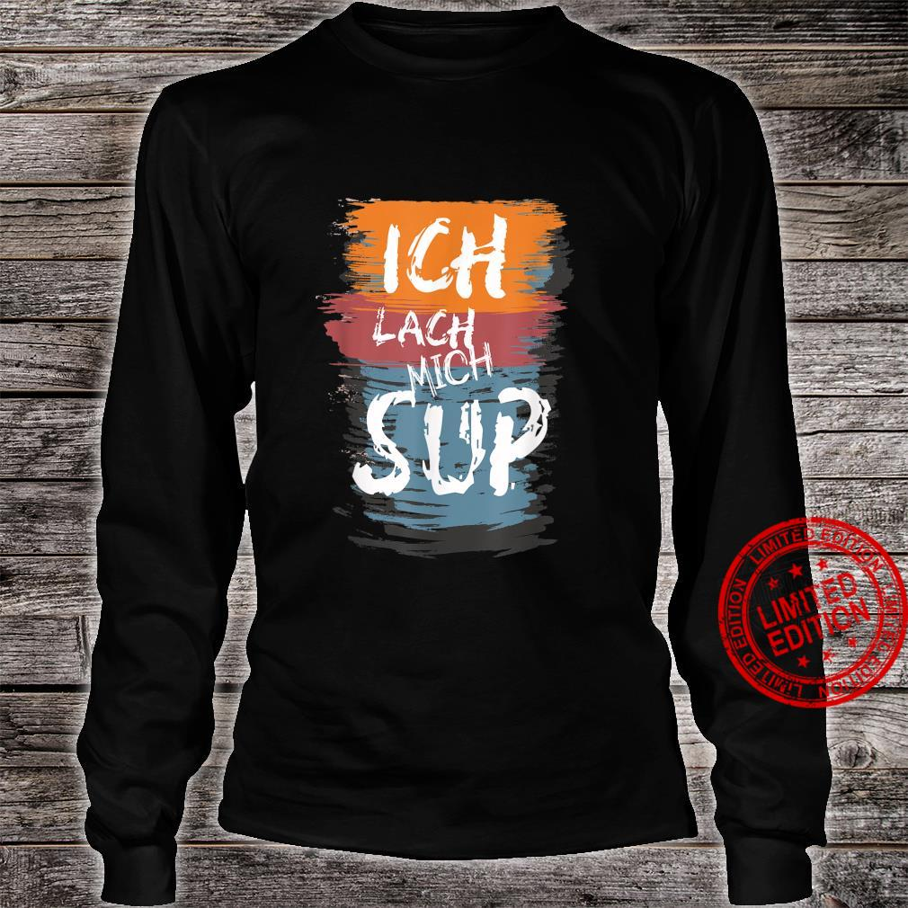 SUP Paddle Stand up Paddling Geschenk Shirt long sleeved