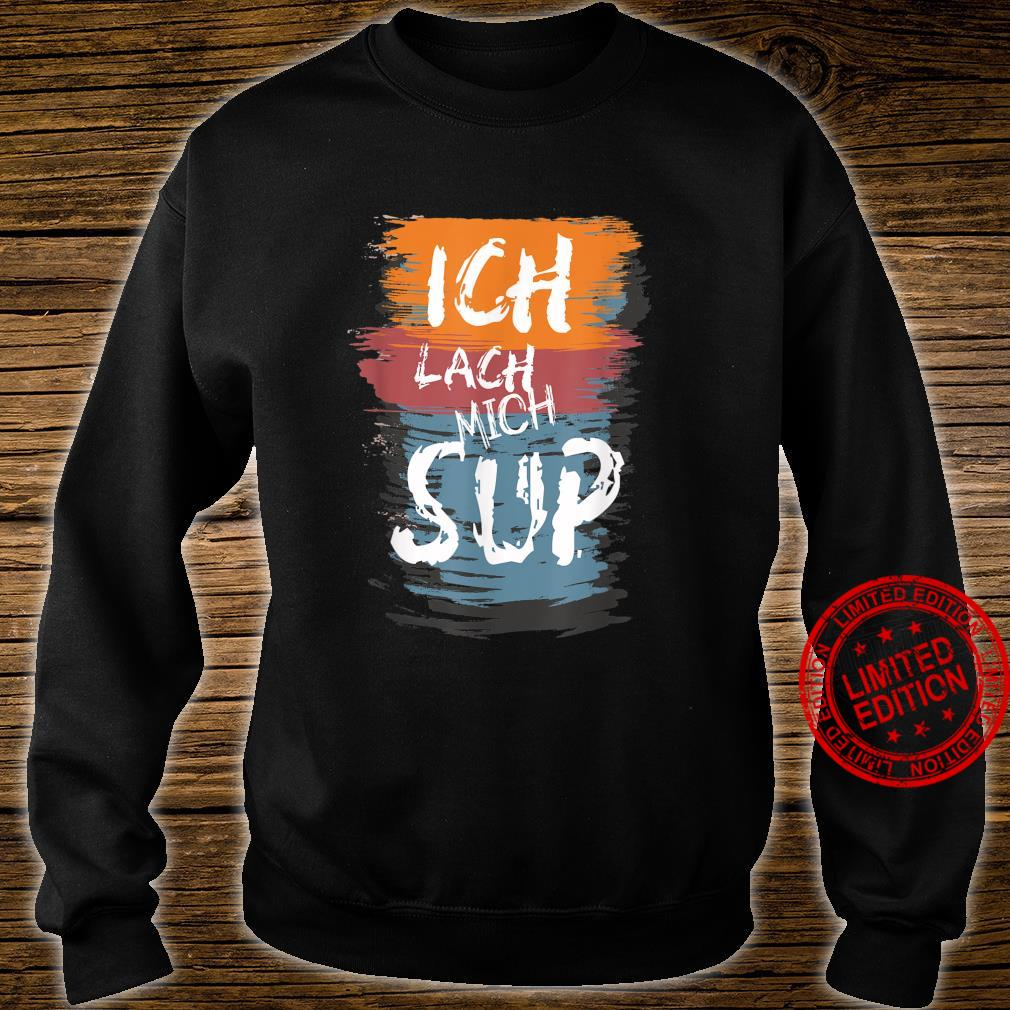 SUP Paddle Stand up Paddling Geschenk Shirt sweater