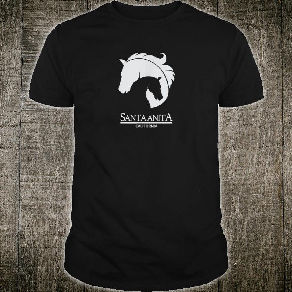 Santa Anita California Horse Racing Fan Park Cool Shirt